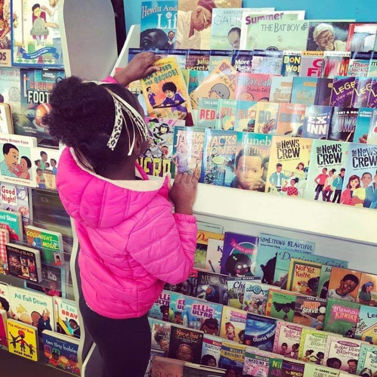 Black-Owned Businesses like Eyeseeme Bookstore Seeing an Increase in Sales