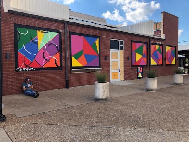 Artist Brock Seals Brightens Up University City Loop
