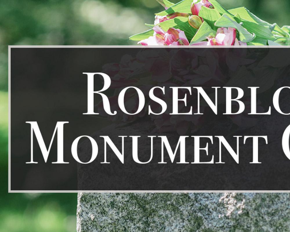 Rosenbloom Monument Company