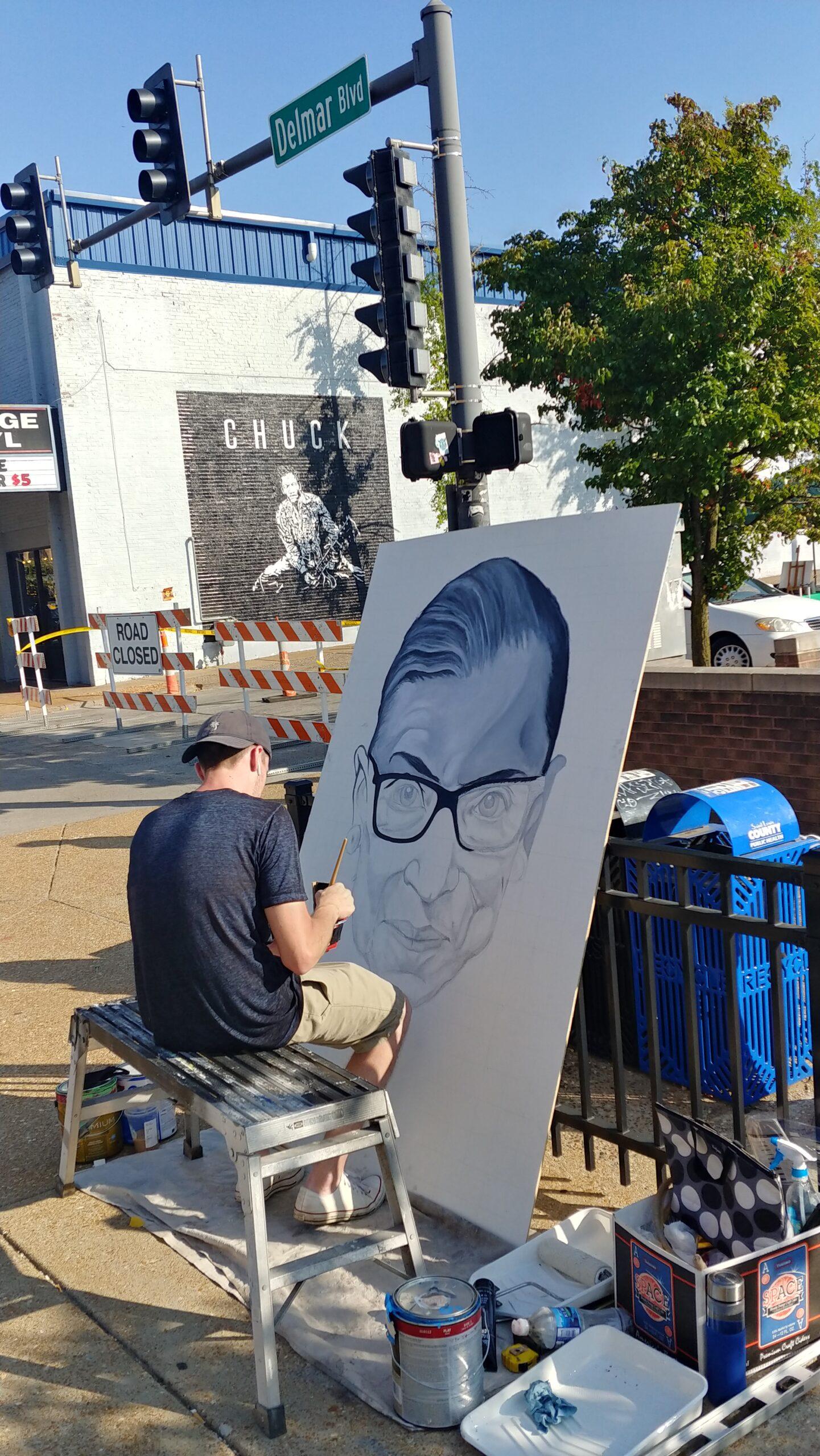 Live Art Demos in The Loop on Saturday, 10/3