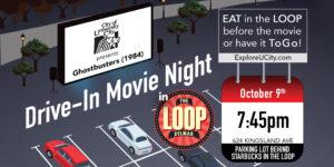 University City Loop Drive-in Movie