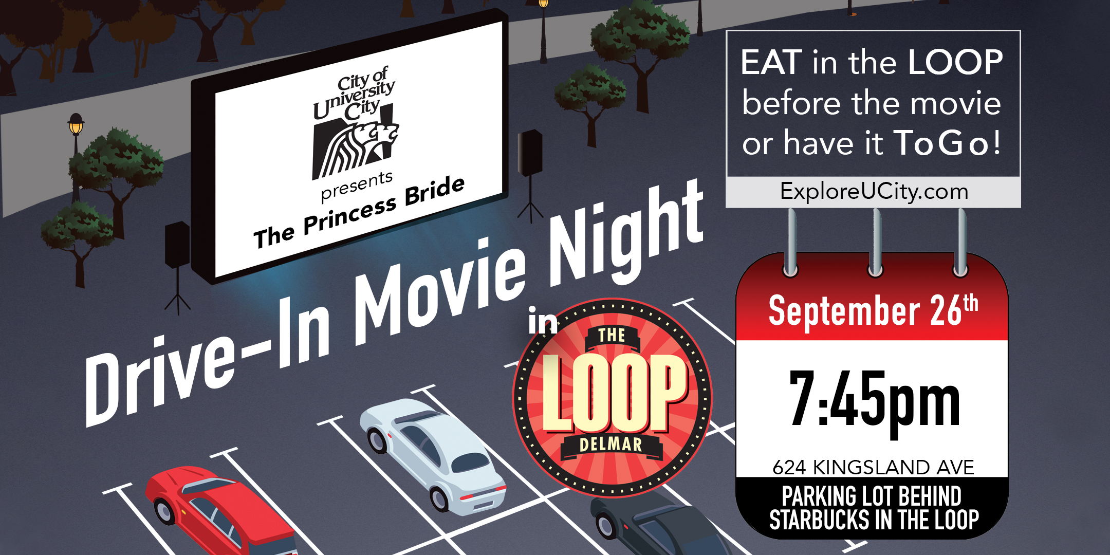University City Loop Drive-in Movie