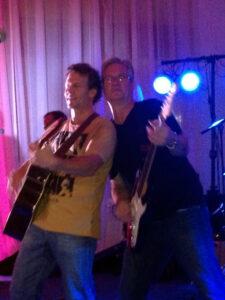 Joel with David Dunn