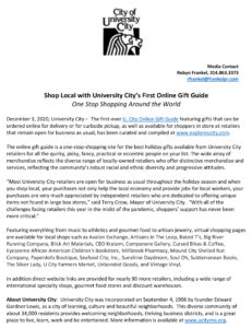 Gift Guide Press Release