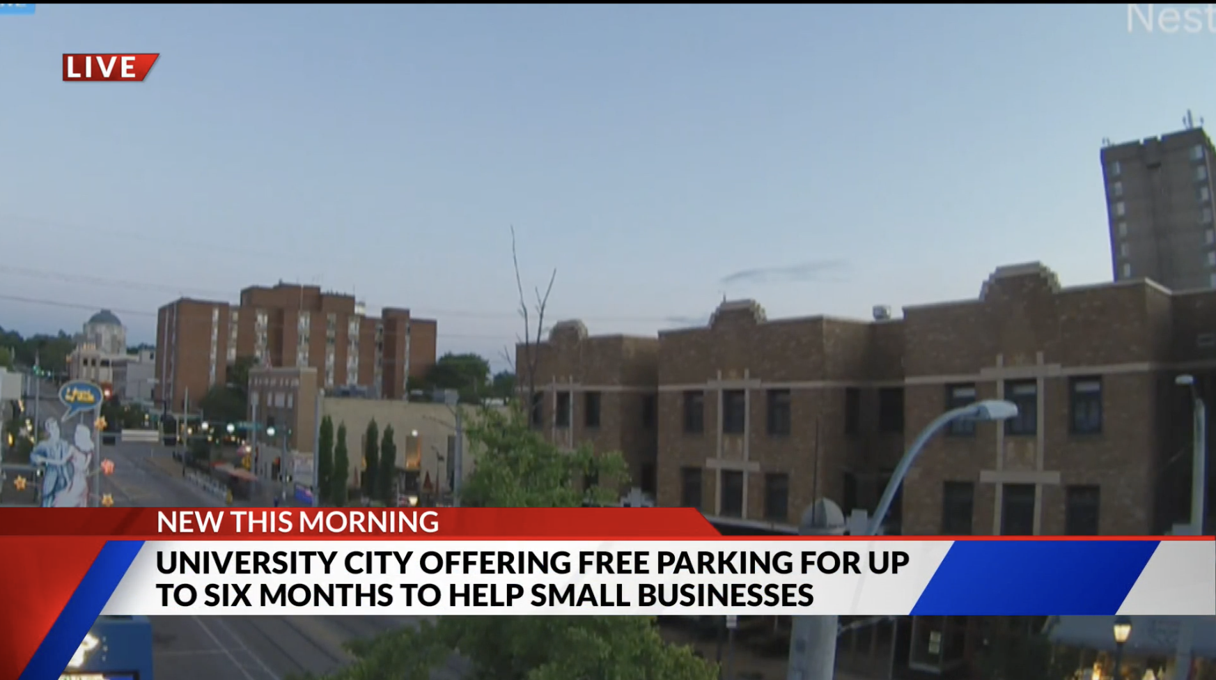 University City waiving parking meter fees to help small businesses